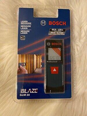Bosch Blaze Glm 20 X 65ft. 18in Range Accuracy Laser Measure
