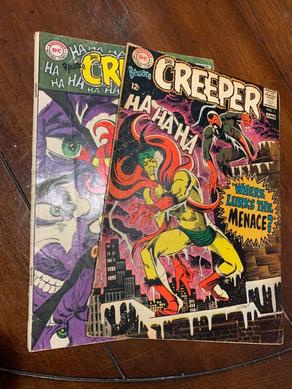 Beware the Creeper 1 And 2! Lower Grades. All Complete Look!