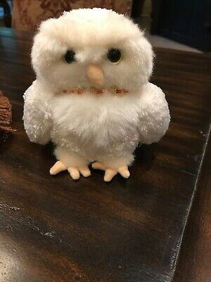 NWOT 2001 Harry Potter Gund Hedwig White Snow Owl Plush 5