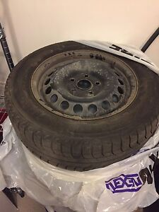 Used 195  65R15 Michelin X-Ice 3 Tires and Rims
