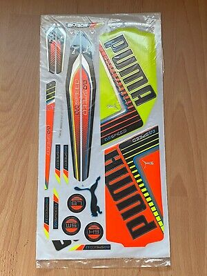 Rare Genuine Puma Evospeed 1 McCullum 302 Cricket Bat Stickers Embossed