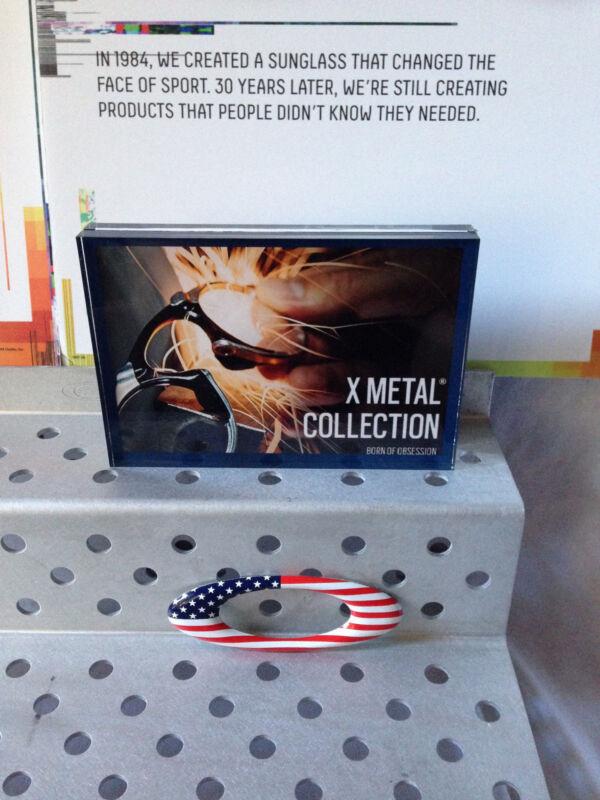 Oakley acrylic Display Sign x metal: Madman, Badman (Very Nice!!!)