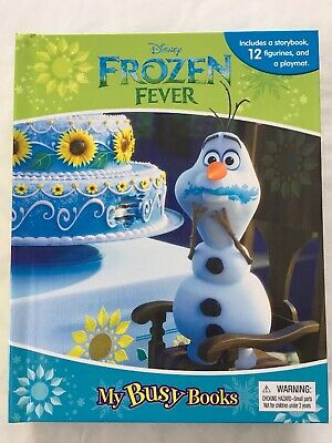 DISNEY FROZEN FEVER MY BUSY BOOK FOR KIDS AGES 3+ *GREAT GIFT FAST FREE SHIP!!** Childrens Busy Book