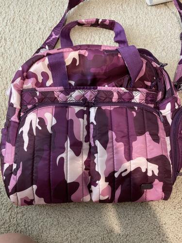 Purple Camo Lug Luggage Used - $50.00