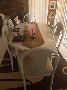 Dining table and 6 chairs Leppington Camden Area Preview