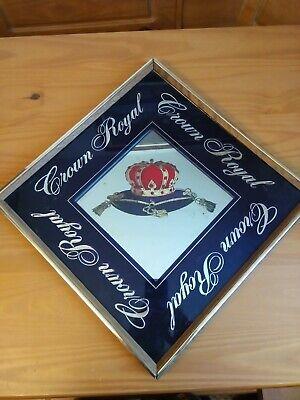 Vintage Crown Royal Mirror
