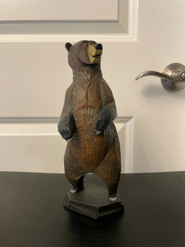 Whittle Woodshop- Whittle Bear. Jeremy Spears - Disney - Tiki