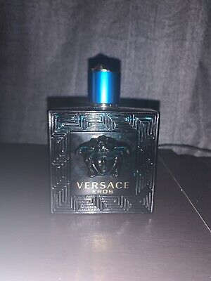 Versace Eros 3.4oz Men's Eau de Toilette 95% FULL