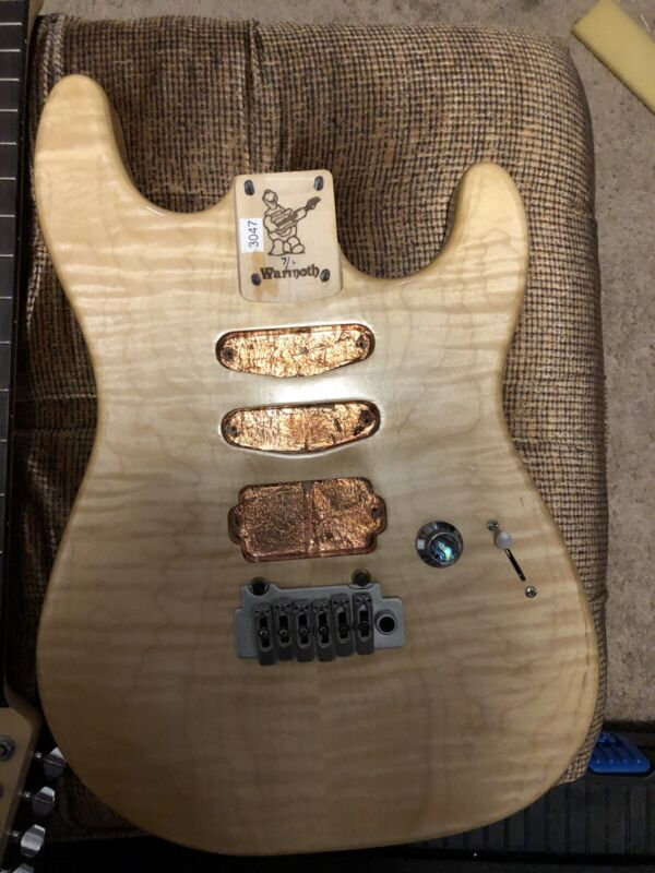 2020 Warmoth Project 7/8 Body And Neck