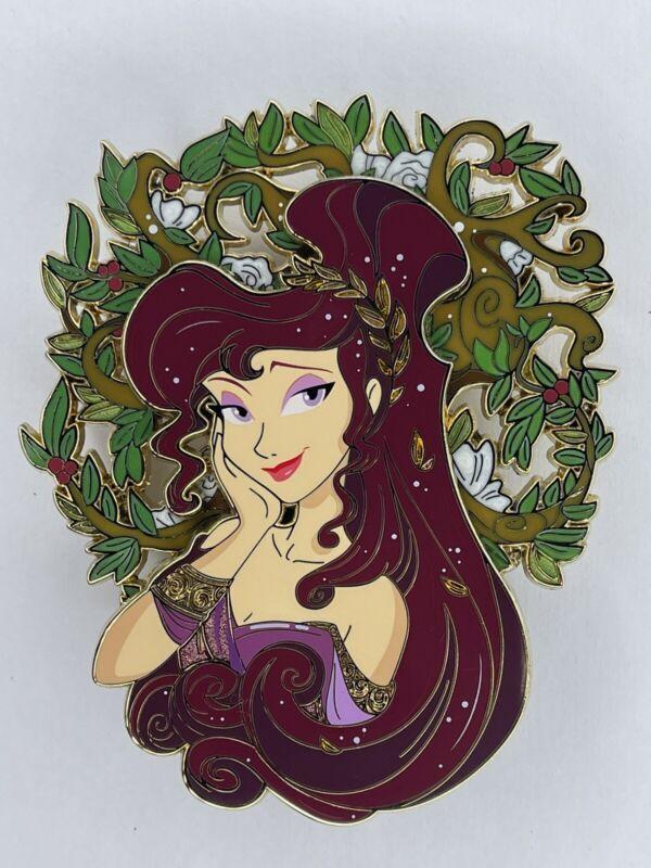 "Disney Reverie Fantasy Megara Pin LE60 Ariel Hercules Hades Greek 4"" GRAIL"