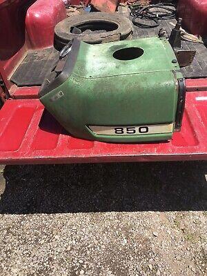 John Deere 850 Tractor Hood Dash
