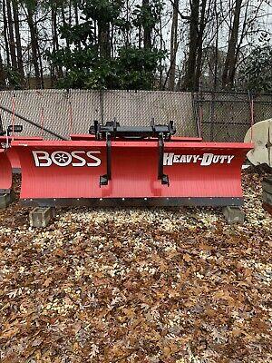 Boss Heavy Duty 10 Snow Plow Hd Steel Blade Crate