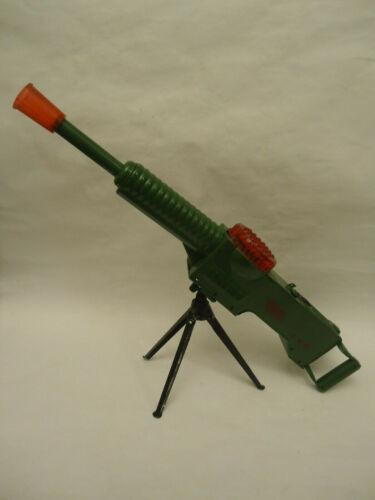 Vintage Rare USSR Soviet Machine GUN Battery Tin Toy 1950/60s