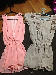 2 cute rompers never worn $10!!!