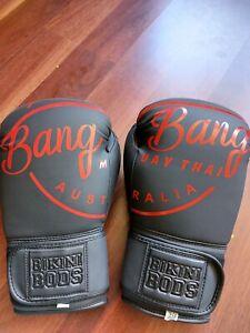 Boxing gloves bikini bods moving sale