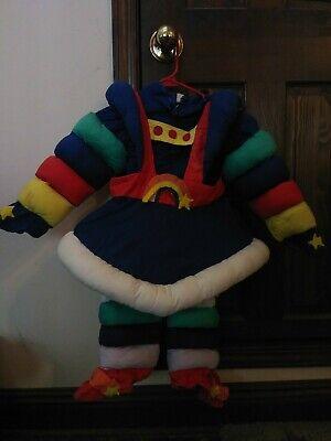 Vintage HANDMADE child size RAINBOW BRITE COSTUME dress fits 3-5T](Rainbow Costume Child)