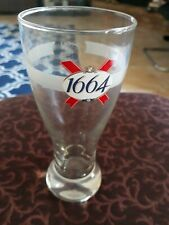 by Kronenbourg 2 OFFICIAL BRANDED KRONENBOURG 1664 PINT GLASS