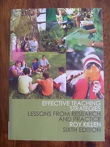 Effective Teaching Strategies by Roy Killen - 6th Edition Coopers Plains Brisbane South West Preview
