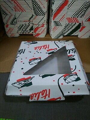 250 Italia Personal Pizza Take-out Boxes Approx 8 X 8 X 2 12 Food Storage