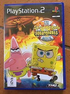 Playstation 2 Game - The SpongeBob Squrepants Movie Game Albany Creek Brisbane North East Preview