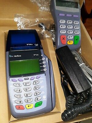 Verifone Vx510 Credit Card Terminal Reader Verifone Pin Pad 100 Se .preowned