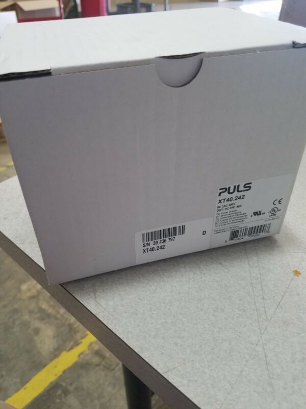 New PULS XT40.242 POWER SUPPLY 3 PHASE INPUT 40A