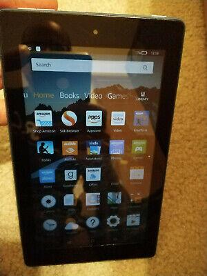 """Amazon Kindle Fire 7, 8GB, Wi-Fi, 7"""", Black, 5th Generation SV98LN"""