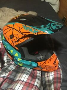 X large fly sledding helmet mint condition 150 OBO