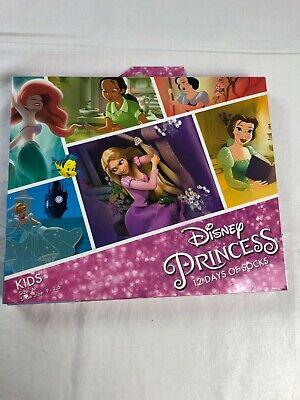 Disney Princess Advent Calendar 12 Days of Socks Kids Size M (9-2.5) Holiday