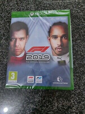 XBOX ONE GAME - F1 2019 - NEW & SEALED