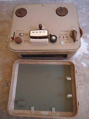 Sony 101 Reel To Reel Tape Recorder, Japanese, See Video !!