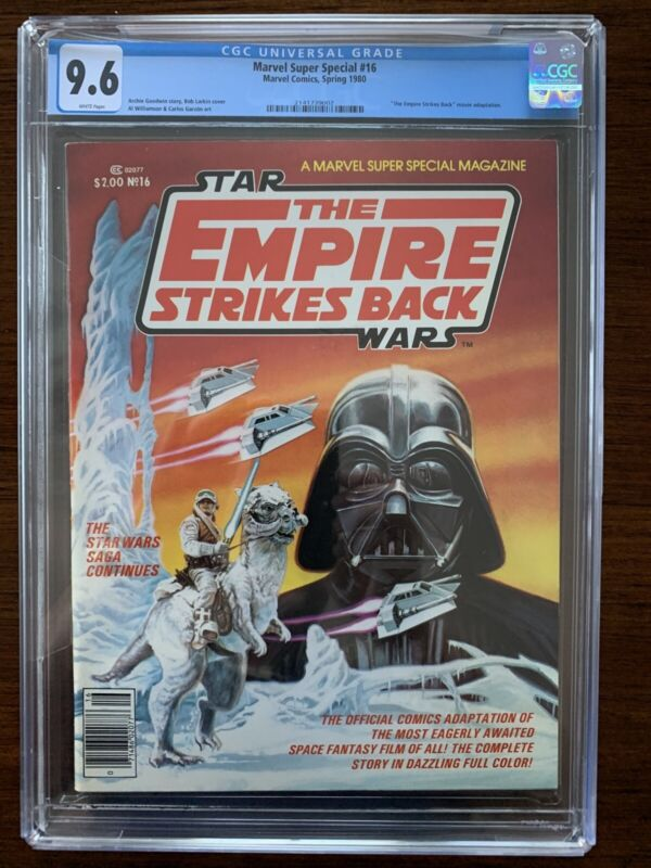 Marvel Super Special #16 CGC 9.6 (1980)  Empire Strikes Back adaptation