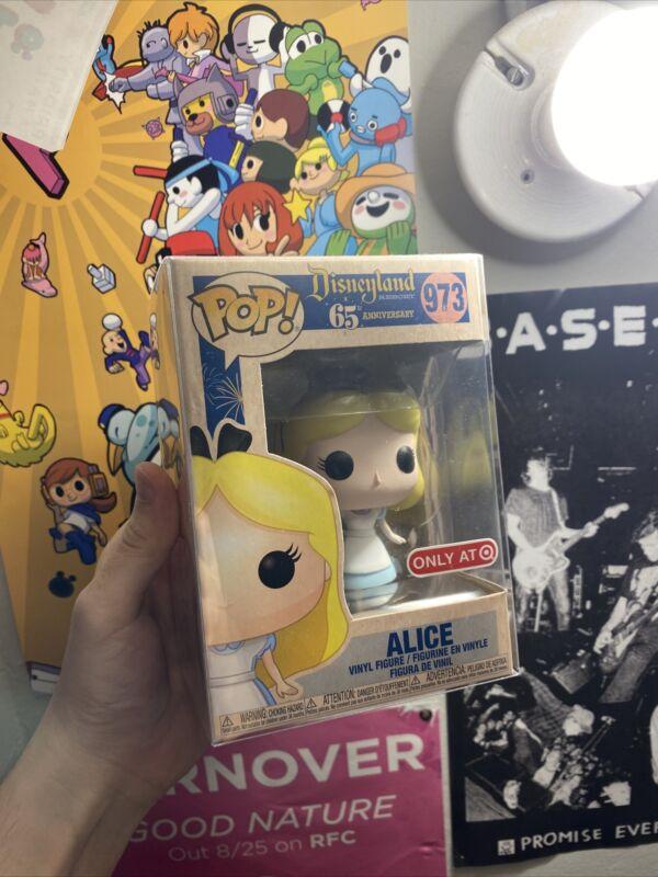 Disneyland 65th Anniversary Alice in Wonderland 973 Pop Vinyl Figure Funko