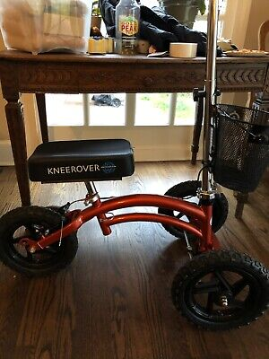 KNEEROVER All Terrain Knee Walker Scooter Heavy Duty Preowned With Stabilizer