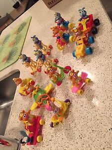 Vintage late 80s early 90s McDonald's toys