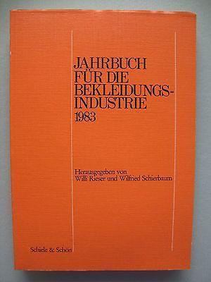Jahrbuch für die Bekleidungsindustrie 1986 Mode Bekleidung Schneiderei