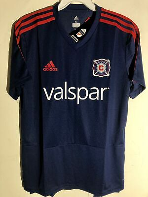 free shipping 4413e 4e066 Soccer-MLS - Chicago Fire Jersey - Trainers4Me
