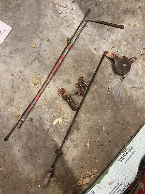 Ford Jubilee-600-800 Tractor Throttle Choke Governor Rods Throttle Linkage