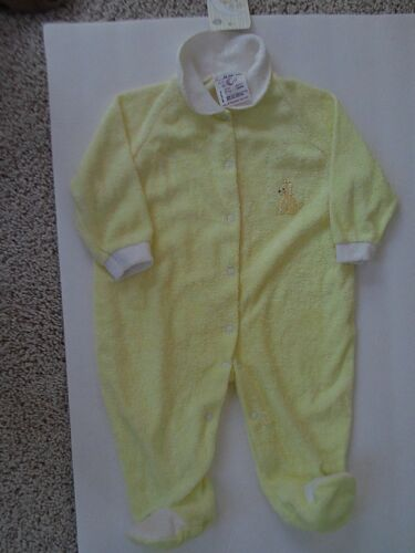 ONE PIECE LG - by GOLDTEX - YELLOW AND WHITE - NWT