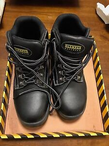 Like new mens leather steel capped boots size 5 Sydney City Inner Sydney Preview