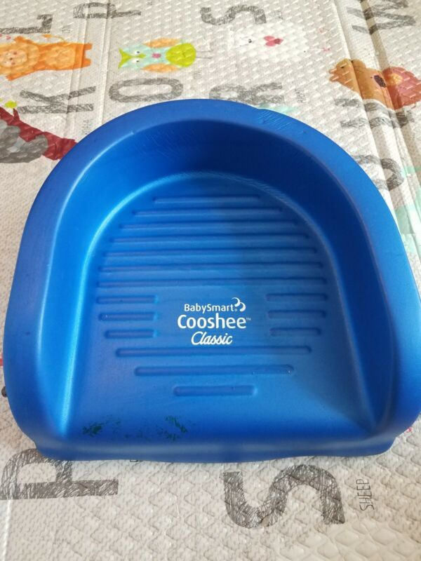 Babysmart Cooshee Classic Soft Foam  Blue Booster Seat Cushion Baby Toddler