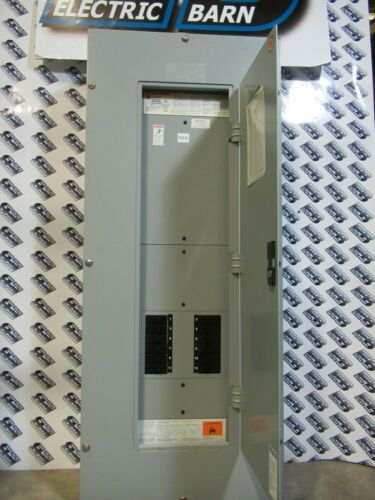 WESTINGHOUSE PRL3A PANELBOARD, 100A MAIN LUG, 120/208V, W/ ASCO CONTACTOR-E2509