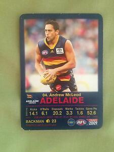 Andrew McLeod - 2009 teamcoach playing card Devonport Devonport Area Preview