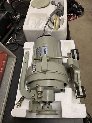 Nos Yamata Clutch Sewing Machine Motor D0l 12h 400w 110v220v 3450 Rpm 1 Phase