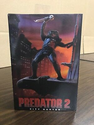 NECA PREDATOR 2 Ultimate City Hunter Action Figure  MISB NEW