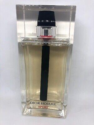 Dior Homme Sport 6.8 oz/ 100 ml - Eau de Toilette Spray New - NO (Dior Homme Eau De Toilette Spray 100ml)