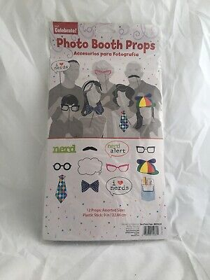 Party Photo Props NERDS MUSTACHE Photo Booth Prop PARTY Signs Party SNAP PROPS