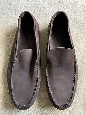 Timberland Earthkeepers Mens Slip On Anti-Fatigue GSR Sole Shoes Size 12 Brown