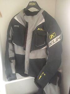 Klim badlands gore-tex waterproof motorbike jacket and pants South Coogee Eastern Suburbs Preview