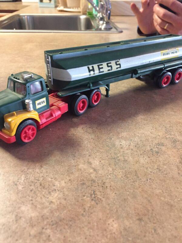 Hess Truck Fuel Oil Truck Vintage